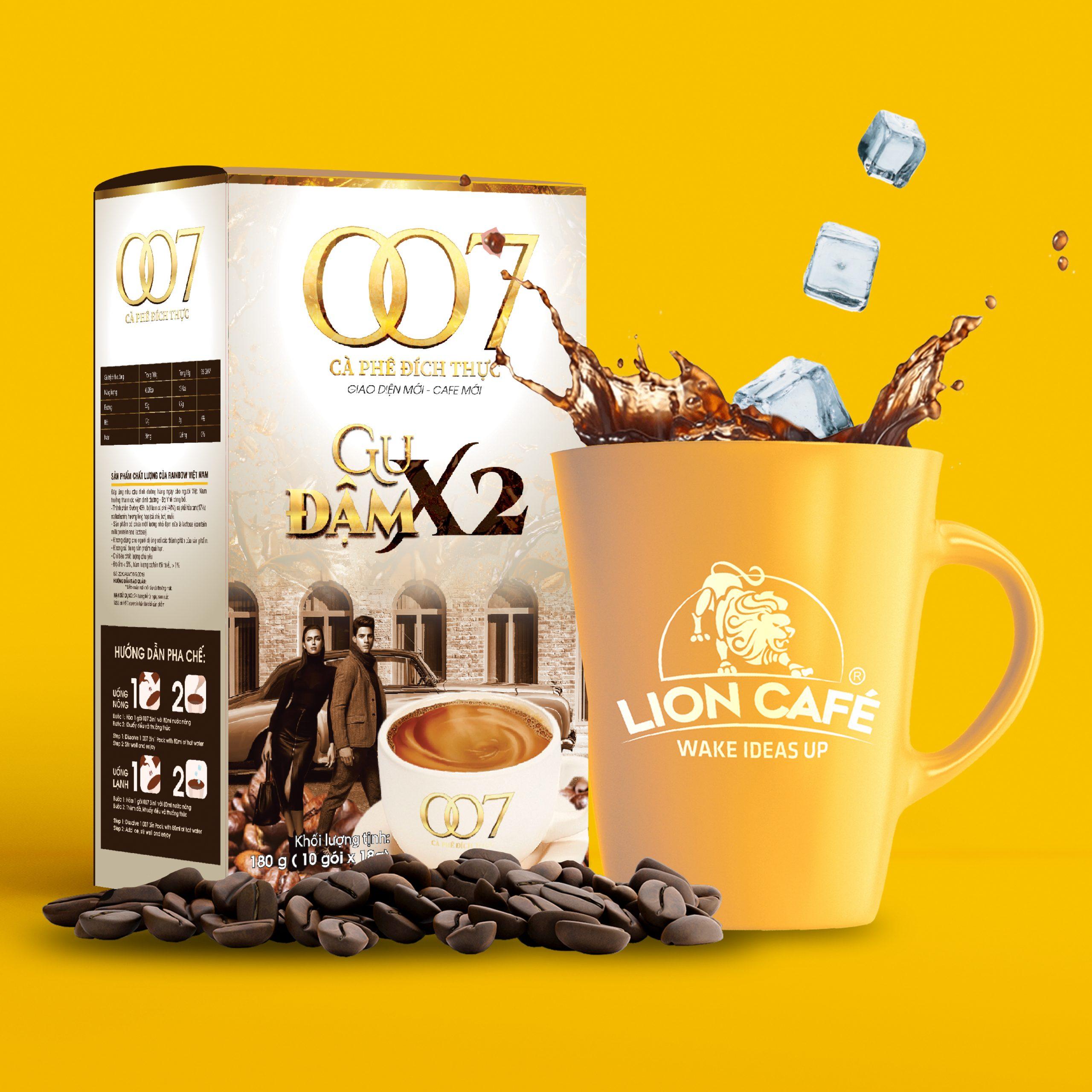cà phê hòa tan 007